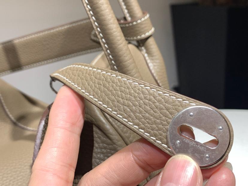 Lindy 26/30cm Togo皮 纯手工 s2风衣灰trench 配全套专柜原版包装