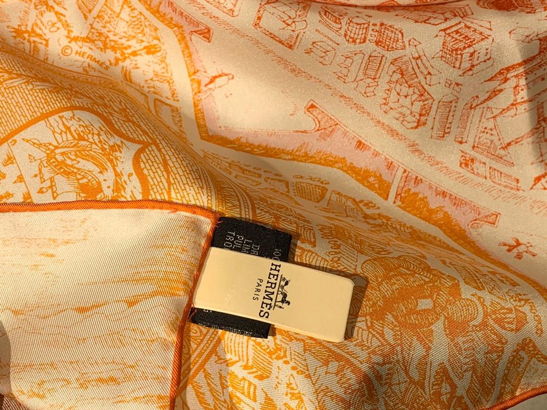 2020 爆版出货了 春夏新款 橘色 H90 <骏马之城 > 补单出货了 90*90cm 三色 18mm