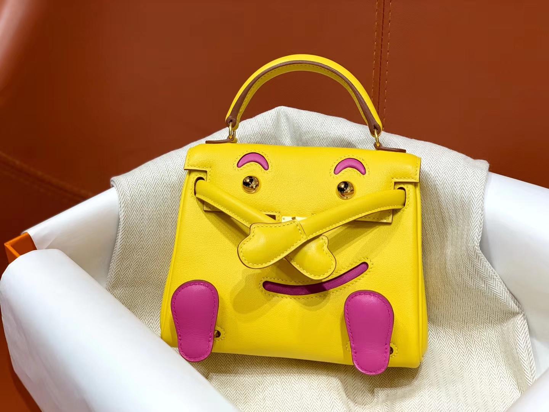爱马仕中国官网 Kellydoll 小可爱 可接受定制 专柜颜色 琥珀黄