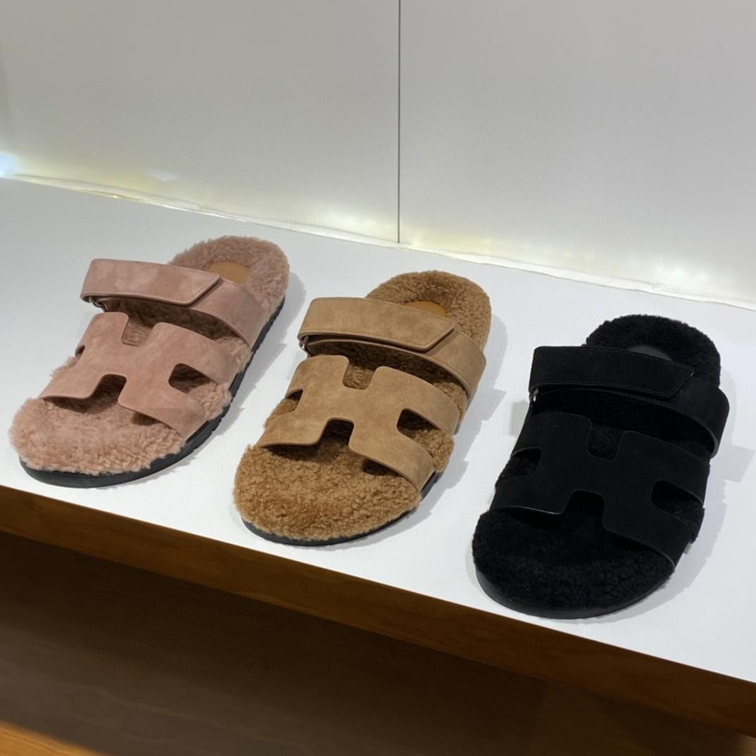 HERMES爱马仕Chypre二舅鞋!出乎意料的好看丑萌丑萌哒 简单好搭配而且自带高级感